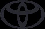 Toyota Logo grau